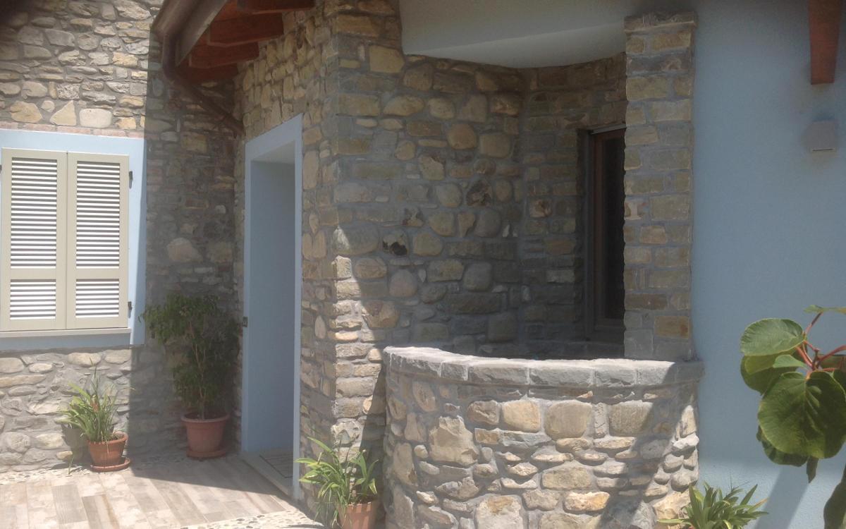 Rivestimento Esterno In Pietra Naturale: Rivestire una parete in ...