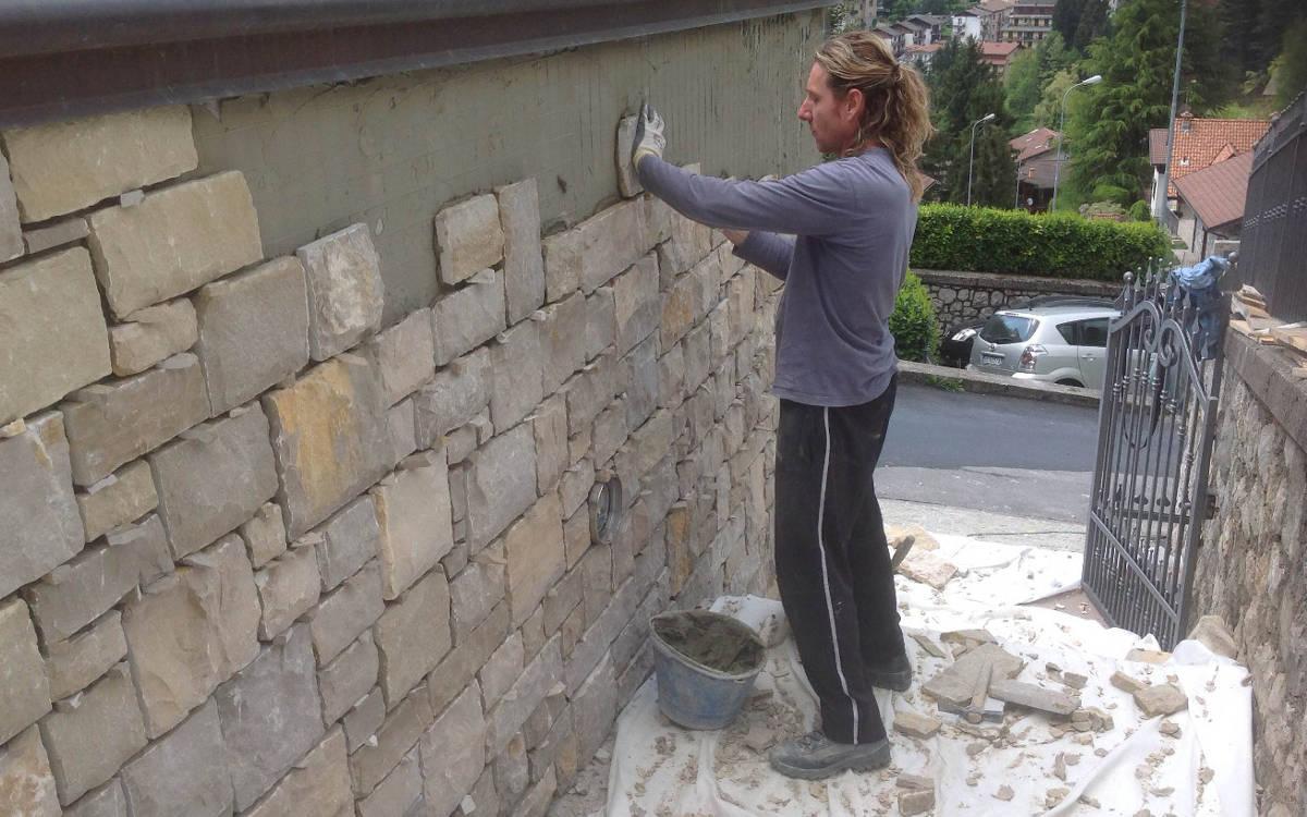 Rivestimento In Pietra Naturale : Pietra naturale rivestimenti materiali edili kijiji annunci